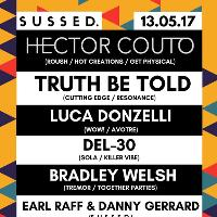 SUSSED w/ Hector Couto, Truth Be Told, Luca Donzelli & Del-30