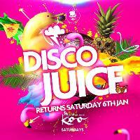 Disco Juice I Saturday's @ Madame Koo
