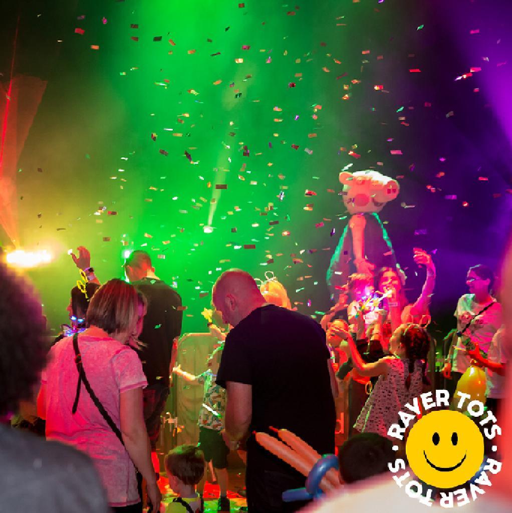 Christmas Party Brighton: Raver Tots With DJ Vibes At Komedia Brighton Tickets