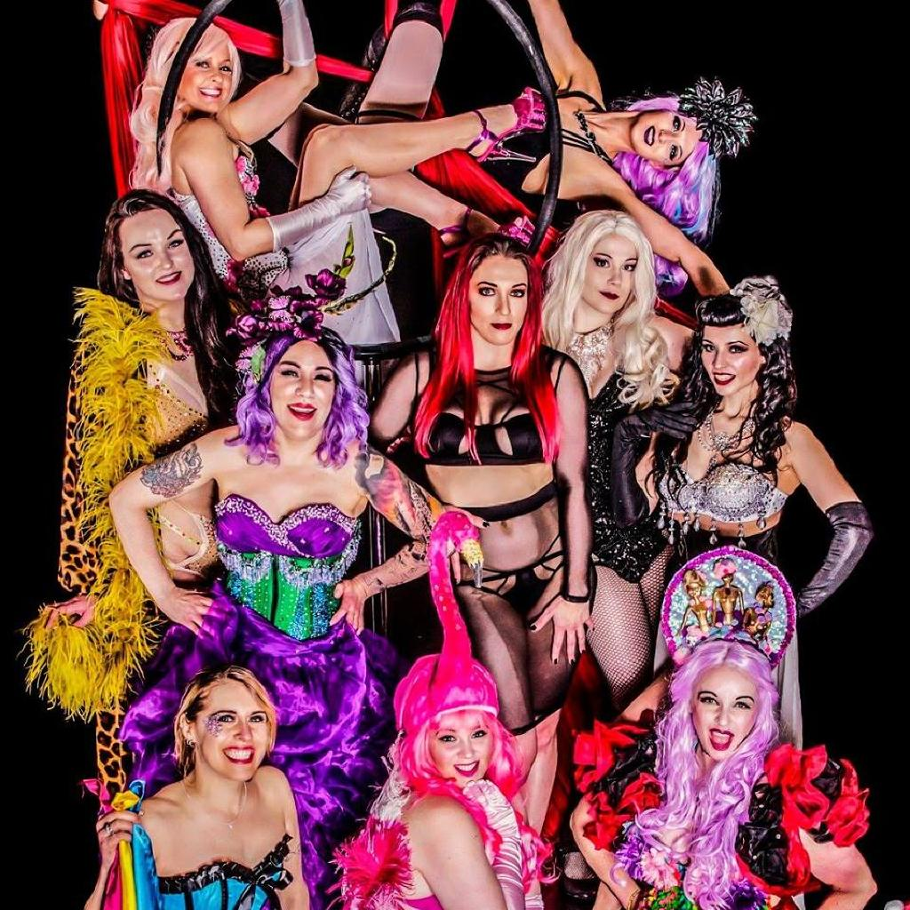 The Scarlet Vixens Present Purple Peep Show